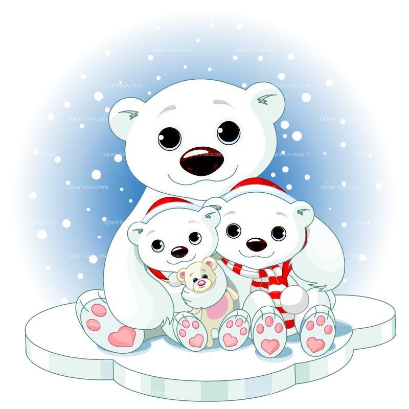 Winter bear clipart 4 » Clipart Portal.