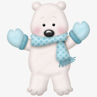 Picture Free Winter Polar Bear Clipart.