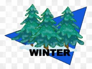 Winter Begins Clip Art.
