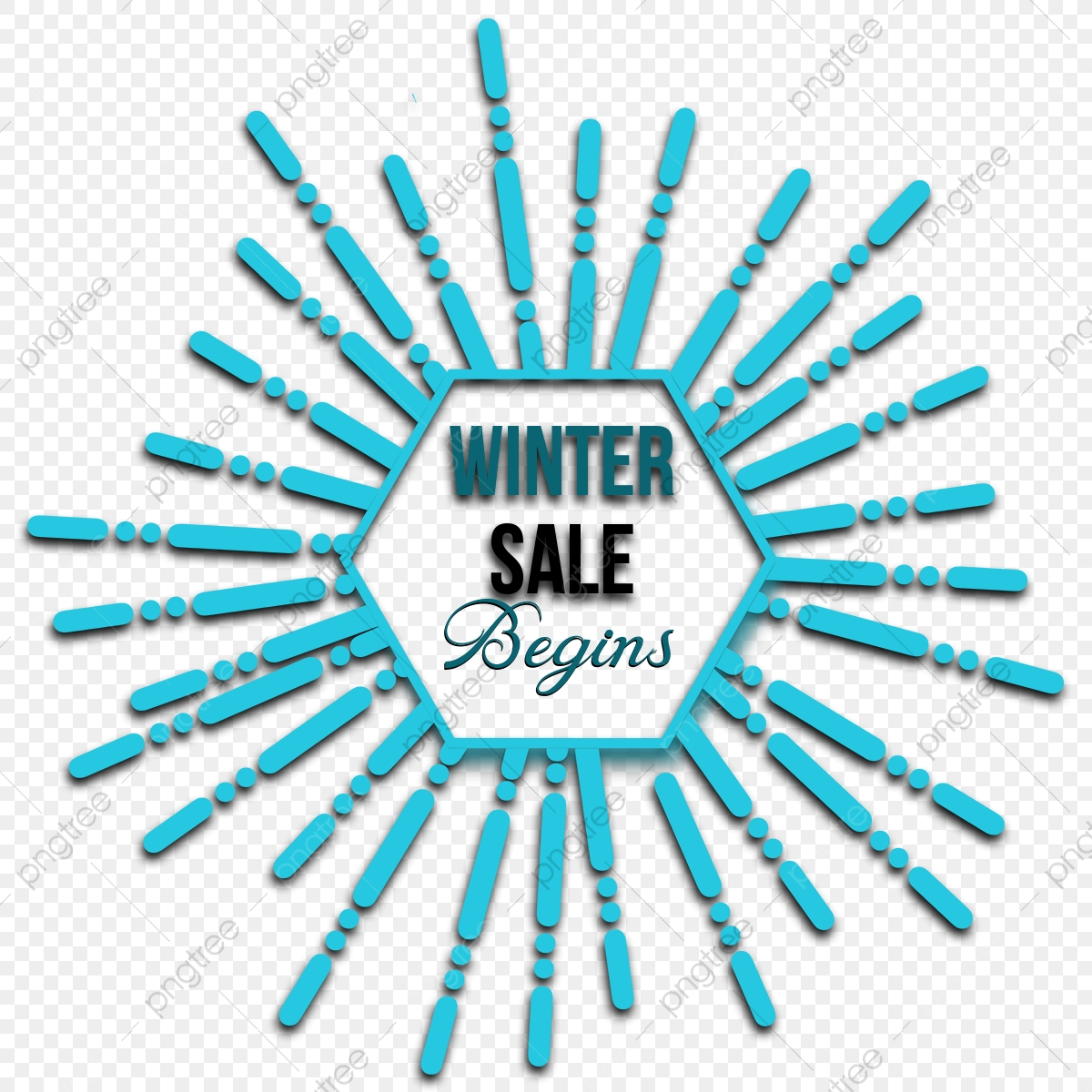 Winter Sale Begins, Winter, Winter Sale, Holiday PNG Transparent.