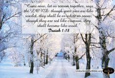 Winter Bible Verses.