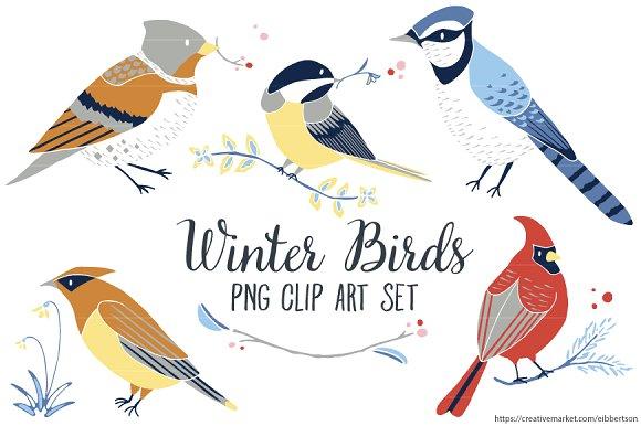 Winter Bird Clip Art Winter Clipart.