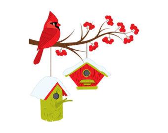 Birdhouse clipart.