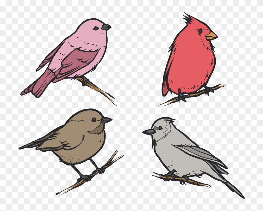Picture Library Library Bird House Clip Art Flat Four.
