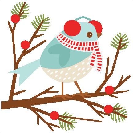 Winter Bird Clipart Free.