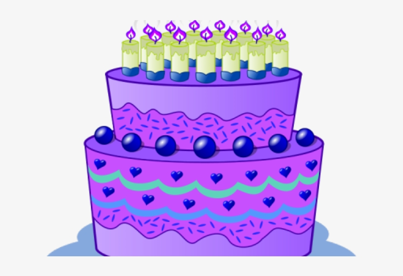 Birthday Cake Clipart Winter.