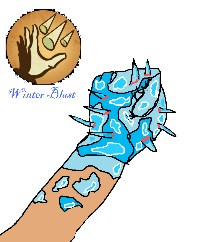 Winter Blast Plasmid by Kaidus on DeviantArt.
