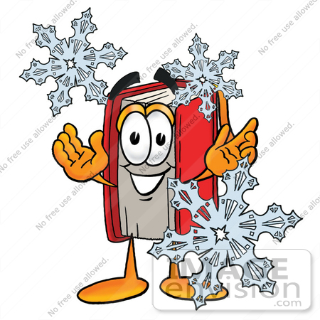 Winter Reading Clipart.
