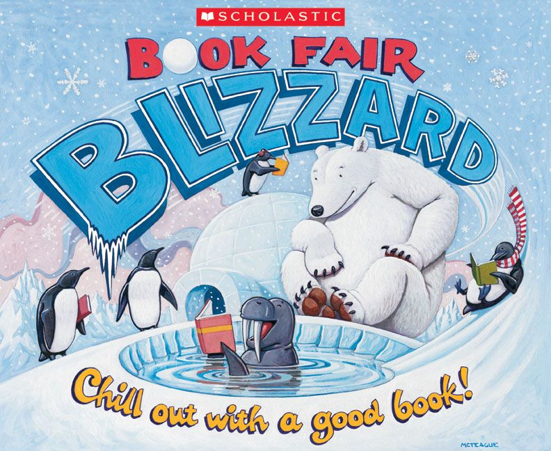 book fair blizzard.
