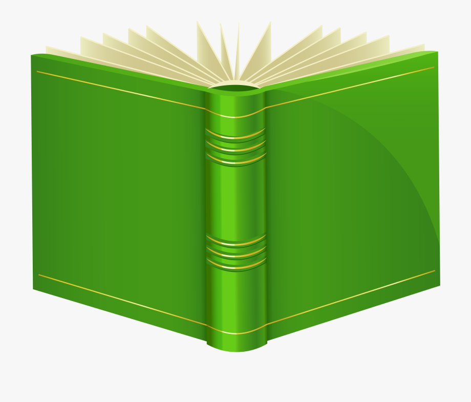 Green Book Png Clipart.