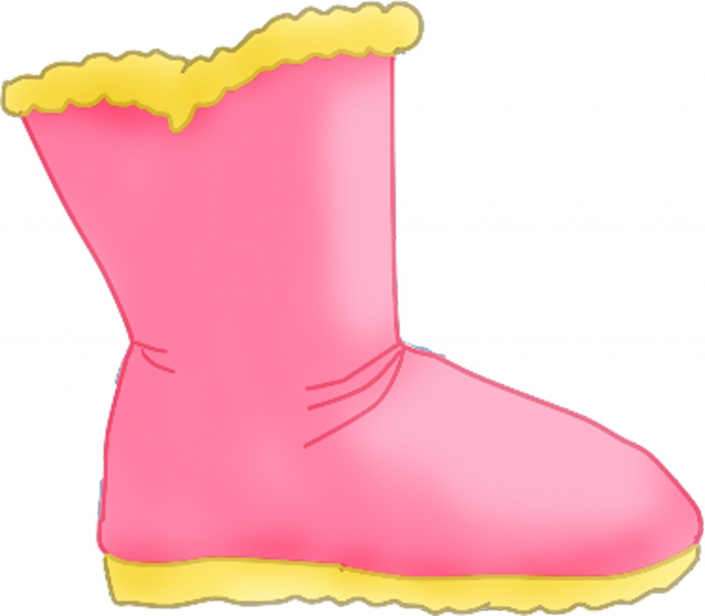 Free Snow Boots Clipart.