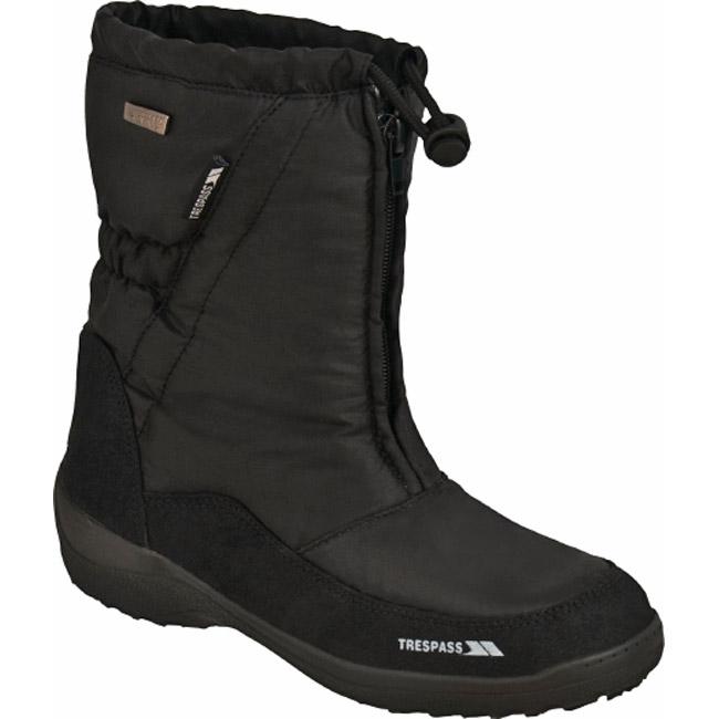 Trespass Lara Womens Snow Boots Winter Boots Footwear Womens.