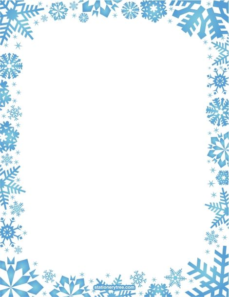 Free Snowflake Frame Cliparts, Download Free Clip Art, Free Clip Art.