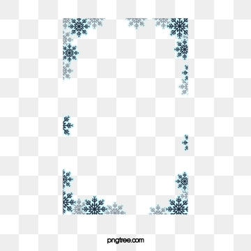 Snowflake Border Png, Vectors, PSD, and Clipart for Free Download.