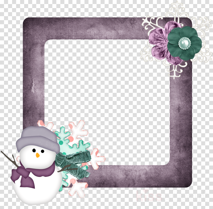 Christmas frame Christmas border Christmas decor clipart.