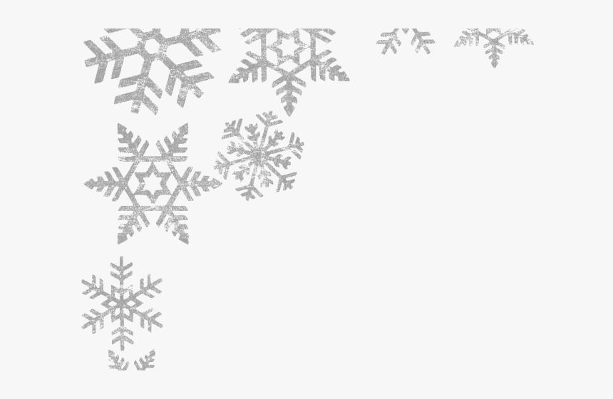 Transparent Snowflake Border Png Transparent.