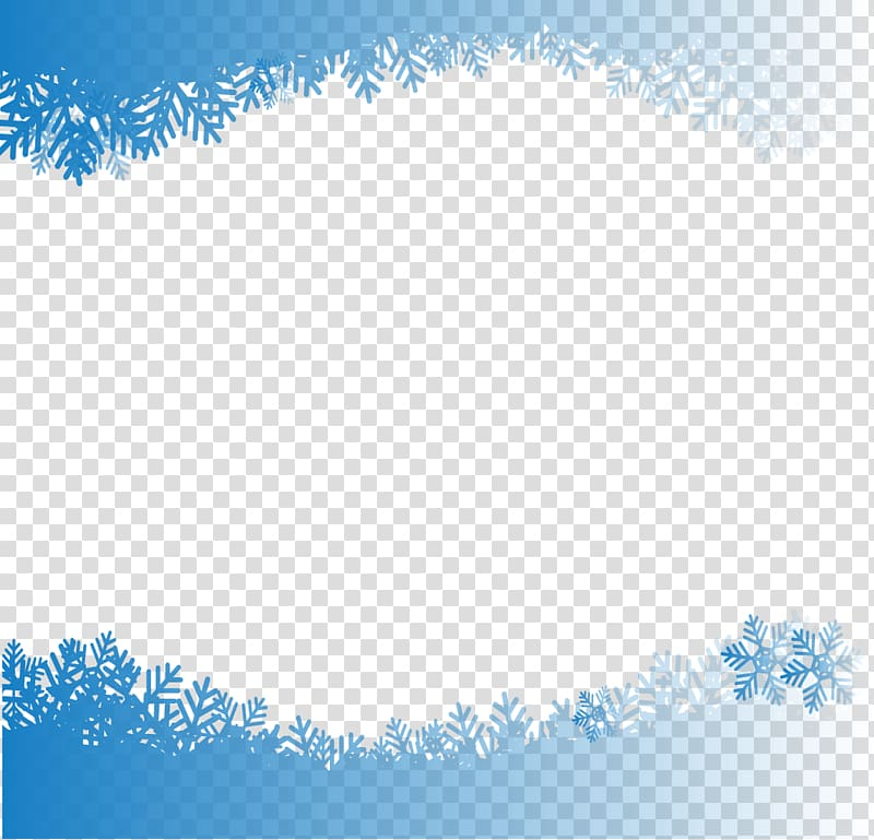 Blue snow flakes , Snowflake Computer file, Hand.