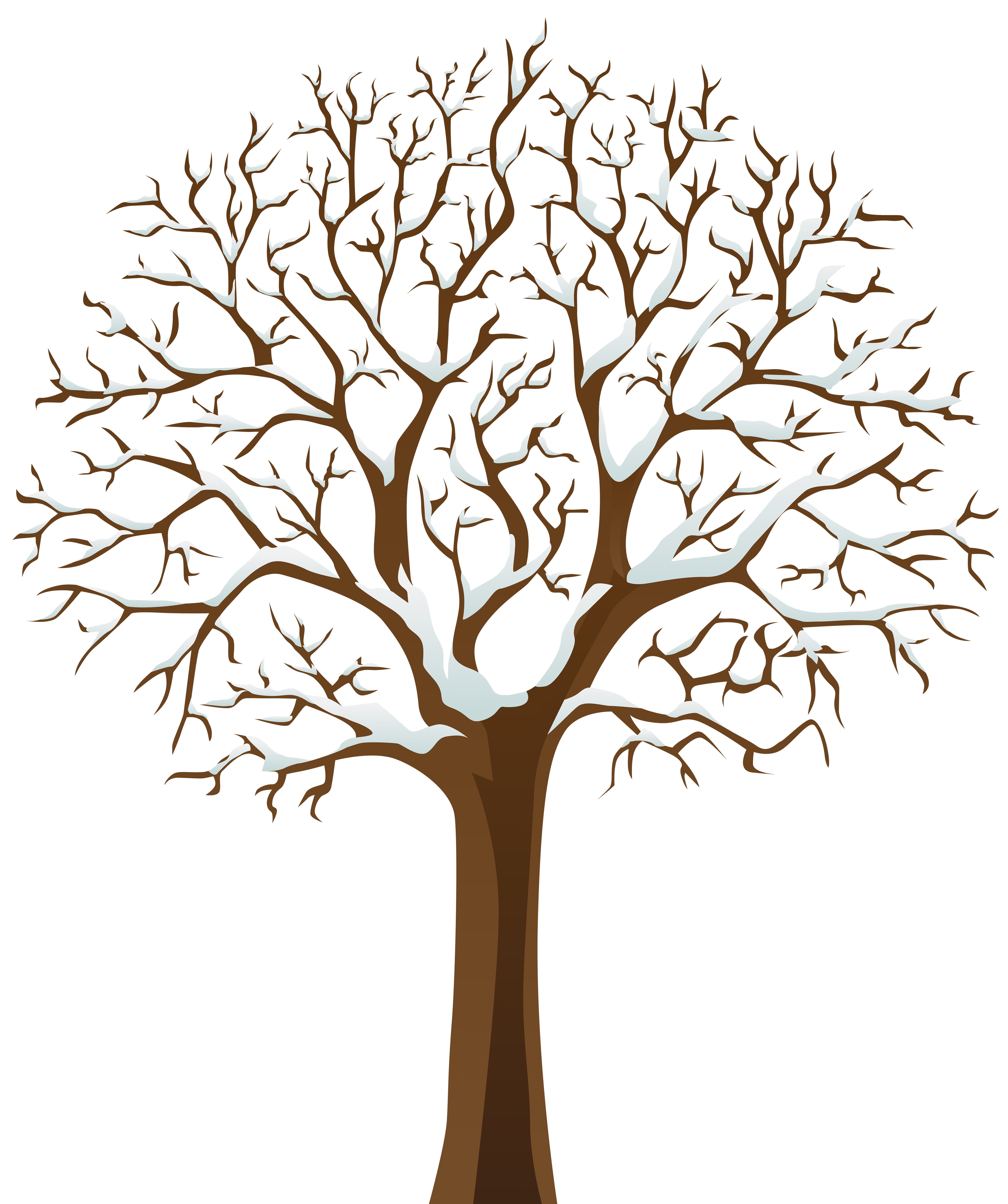 Tree Winter Branch Clip art.