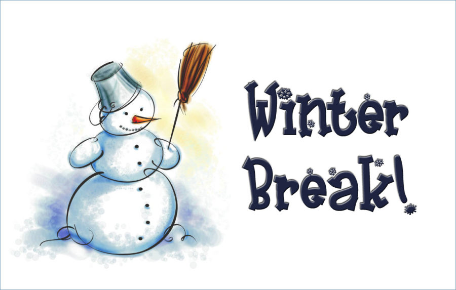 Clipart Winter Break.
