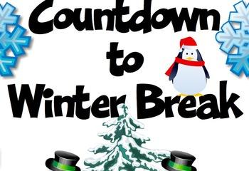 Countdown to Christmas Break.