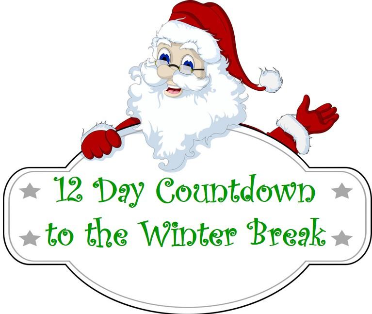 12 Day Countdown to the Winter Break FUN!.