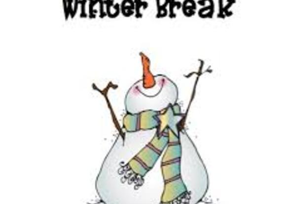 Winter Break in District 90.