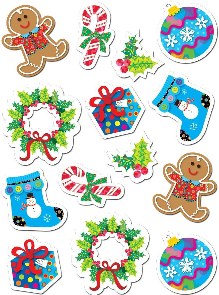 Creative Teaching Press Winter Holiday Stickers (4129).