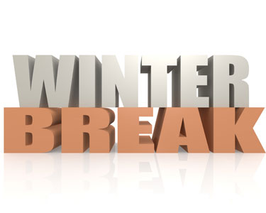 Charlotte County and Southern Sarasota County: Winter Break.