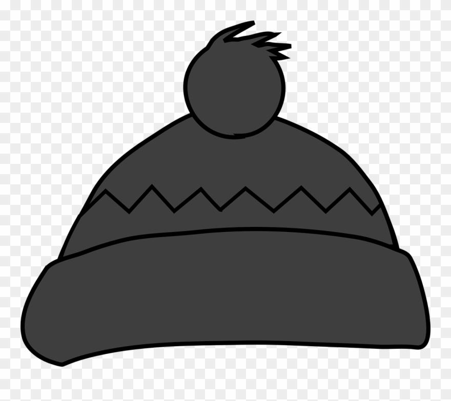 Bobble Cap, Hat, Winter, Warm, Gray, Wool.