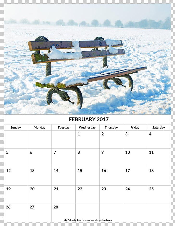 Snow Winter Calendar Bench Season PNG, Clipart, 2018, 2018.