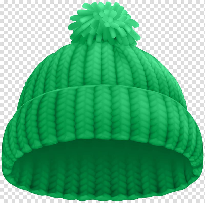 Green knit cap , Hat Knit cap , Green Winter Hat transparent.