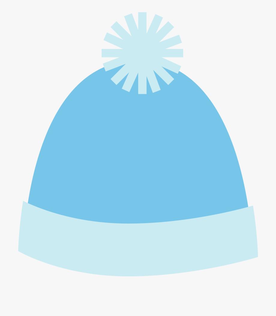 Clipart Blue Winter Hat.