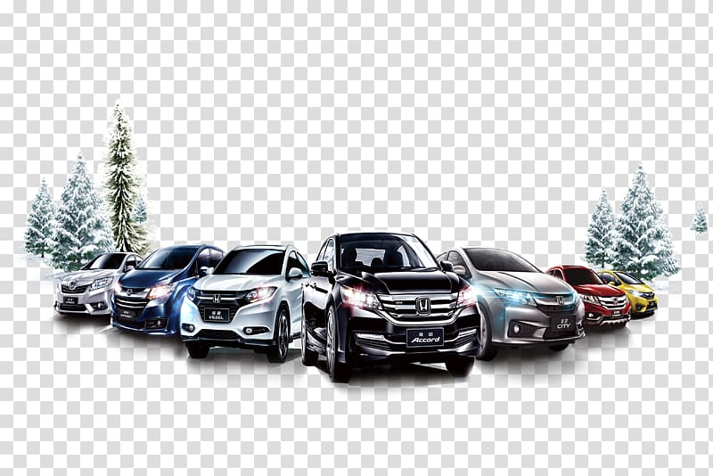 Car Snow Winter, Winter car sales transparent background PNG.