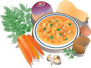 Soup Clipart.