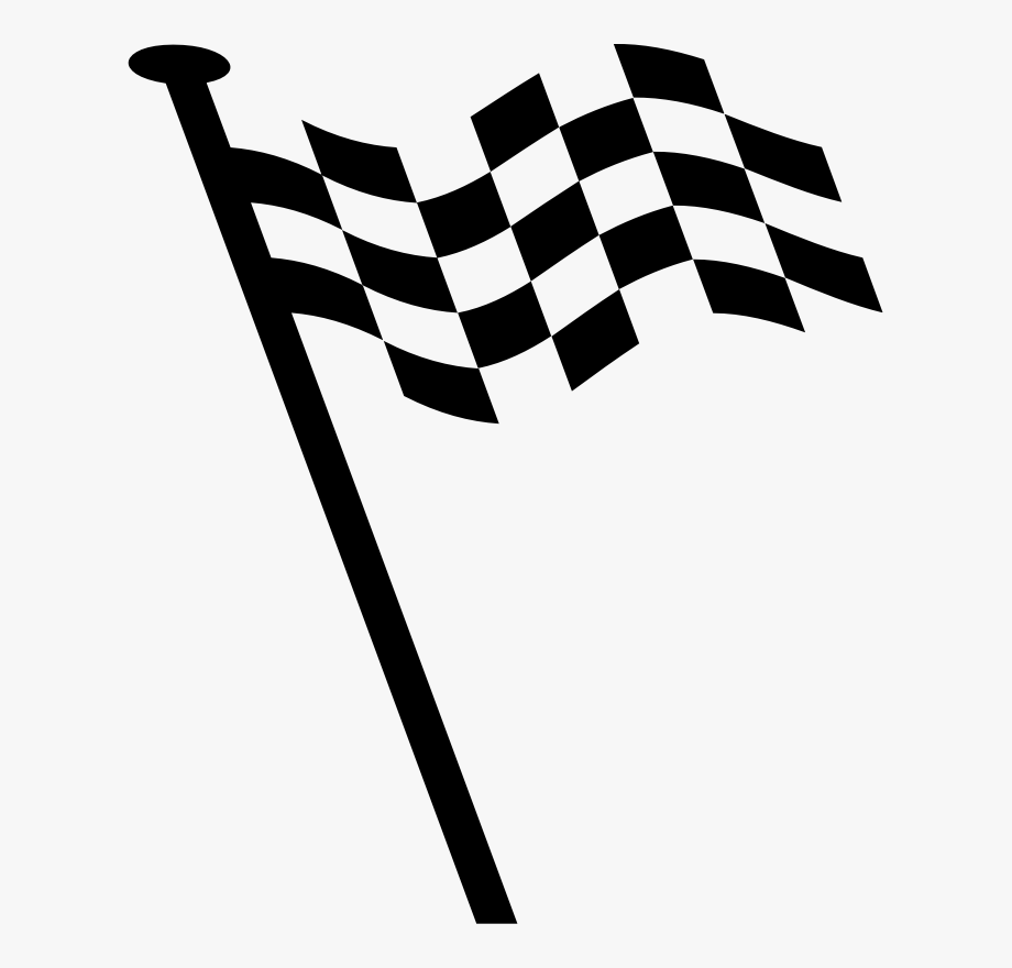Clipart Racing Flag.