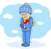 Winter Chill Out Clipart.