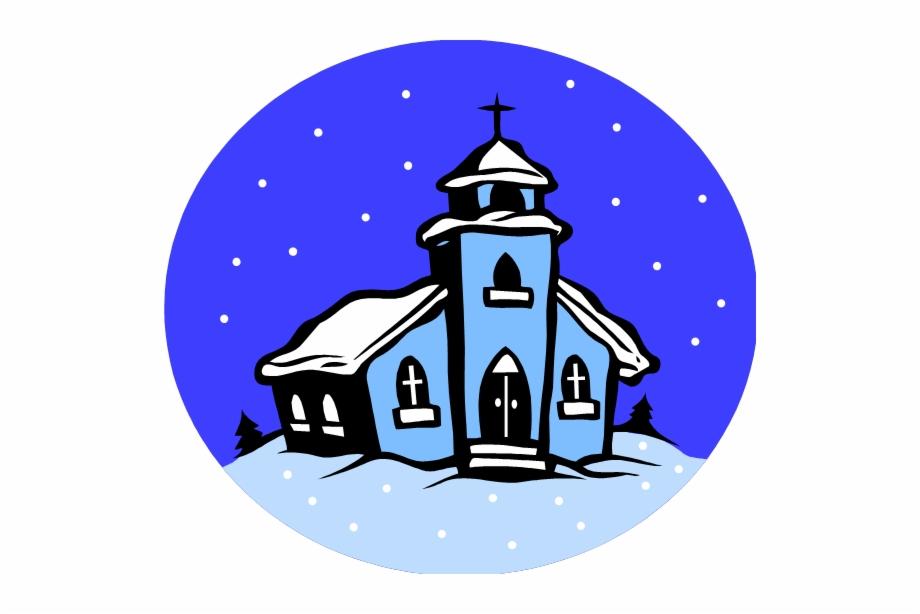 Winter Church Clipart.