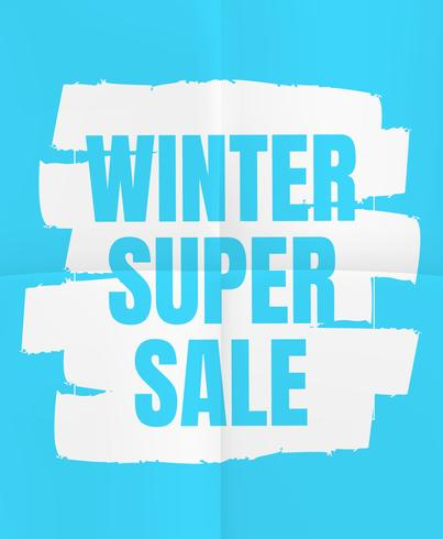 Winter Super Sale.