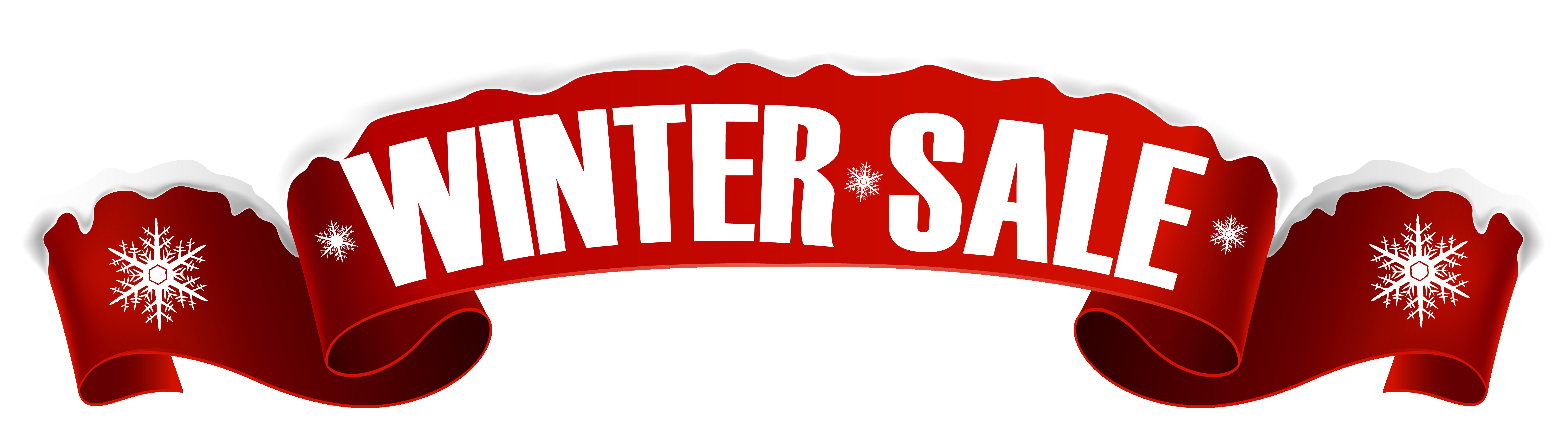 Sales Banner Winter Clip art.