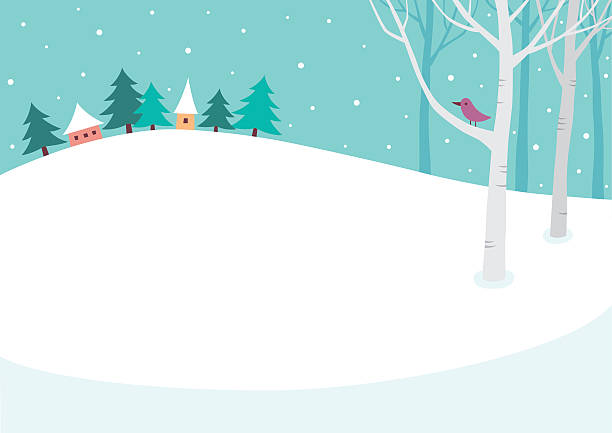 Best Winter Wonderland Illustrations, Royalty.