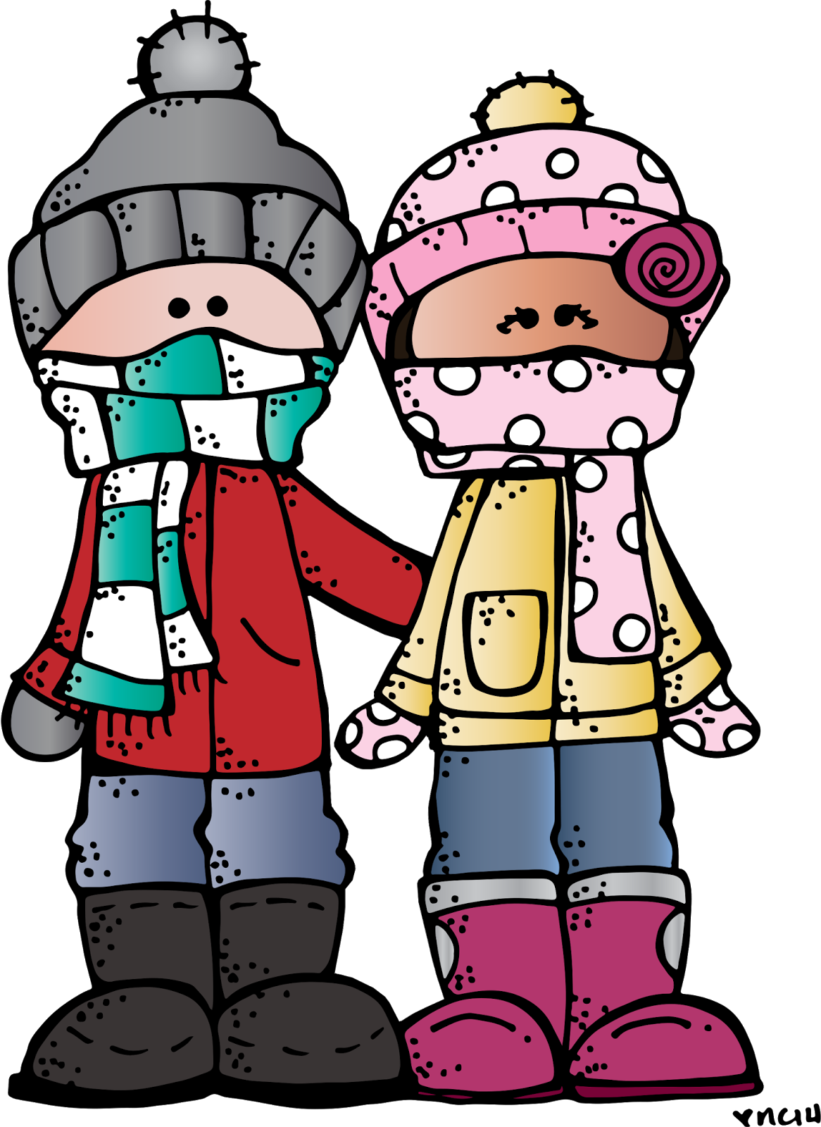 number 5 winter clipart #3