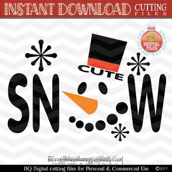 Snowman Svg.