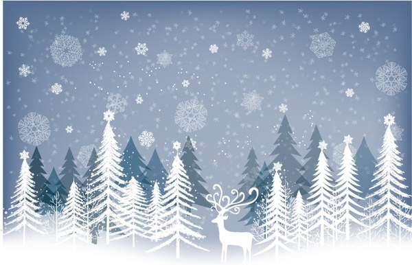 Winter clipart background 5 » Clipart Station.