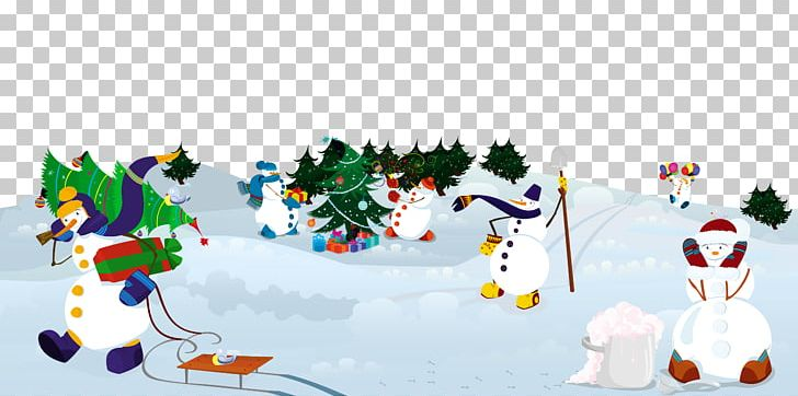Snowman Winter Illustration PNG, Clipart, Banner, Cartoon.