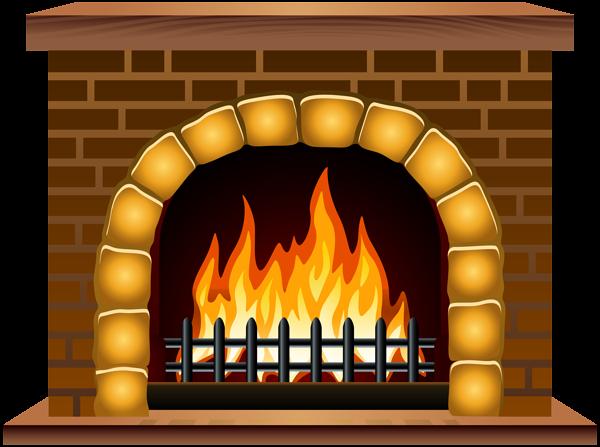 Chimney clipart fireplace scene, Chimney fireplace scene.