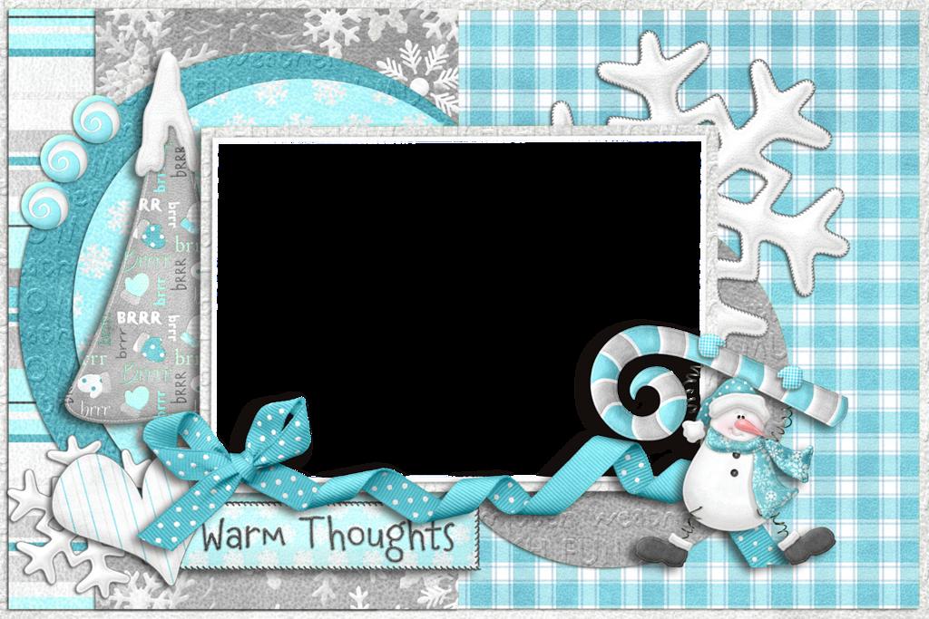 Winter Clipart Frames.