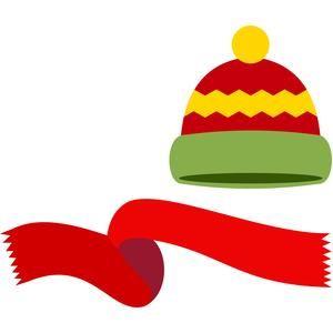 Scarf winter cap.