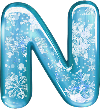 Clipart winter letter, Clipart winter letter Transparent.