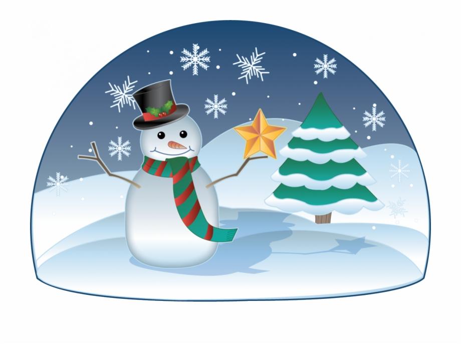 Snowman Winter Clipart.
