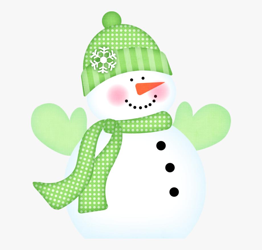 Snowman Winter Clipart ,.